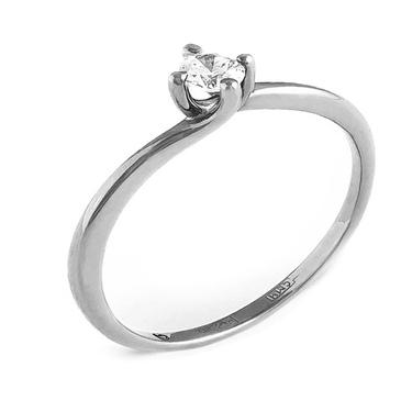 Купить кольцо из белого золота для помолвки в Минске. Выгодные условия 734573da7fe