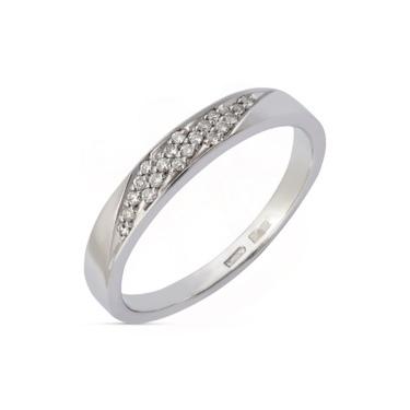 Купить кольцо из белого золота обручальное по недорогой цене в Минске 0a085295e3a