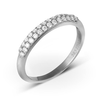 Кольцо обручальное арт. RW43. Купить кольца из белого золота 8aca492f06a