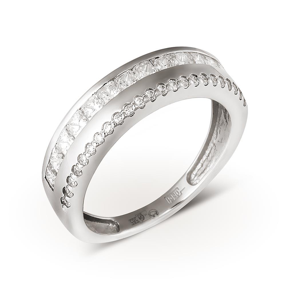 Обручальное кольцо из белого золота купить в Минске. Кольцо из ... 0f86a012d46
