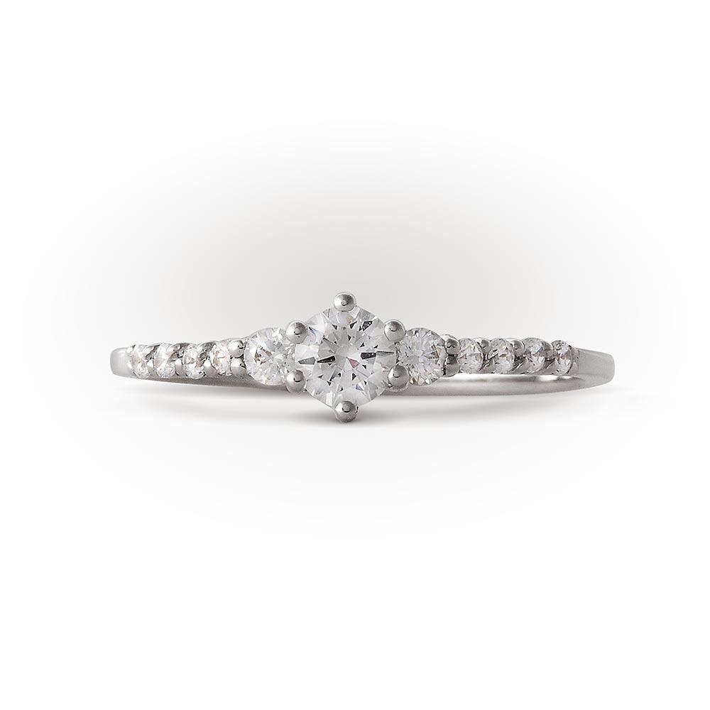 Купить обручальное кольцо из белого золота Арт. 01К125831. Кольца по ... bed54ca5257