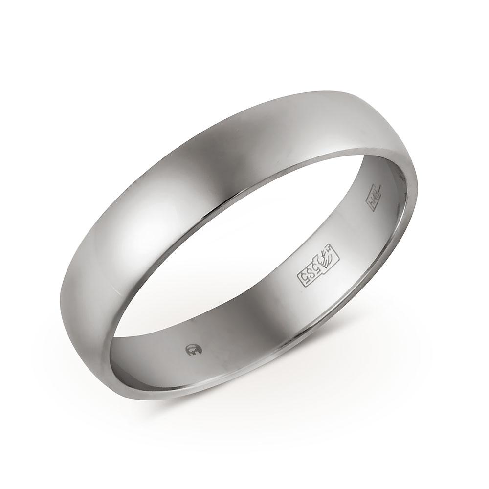 Кольцо Арт. 01О720096. Обручальное кольцо из белого золота ... dbb2131cfca