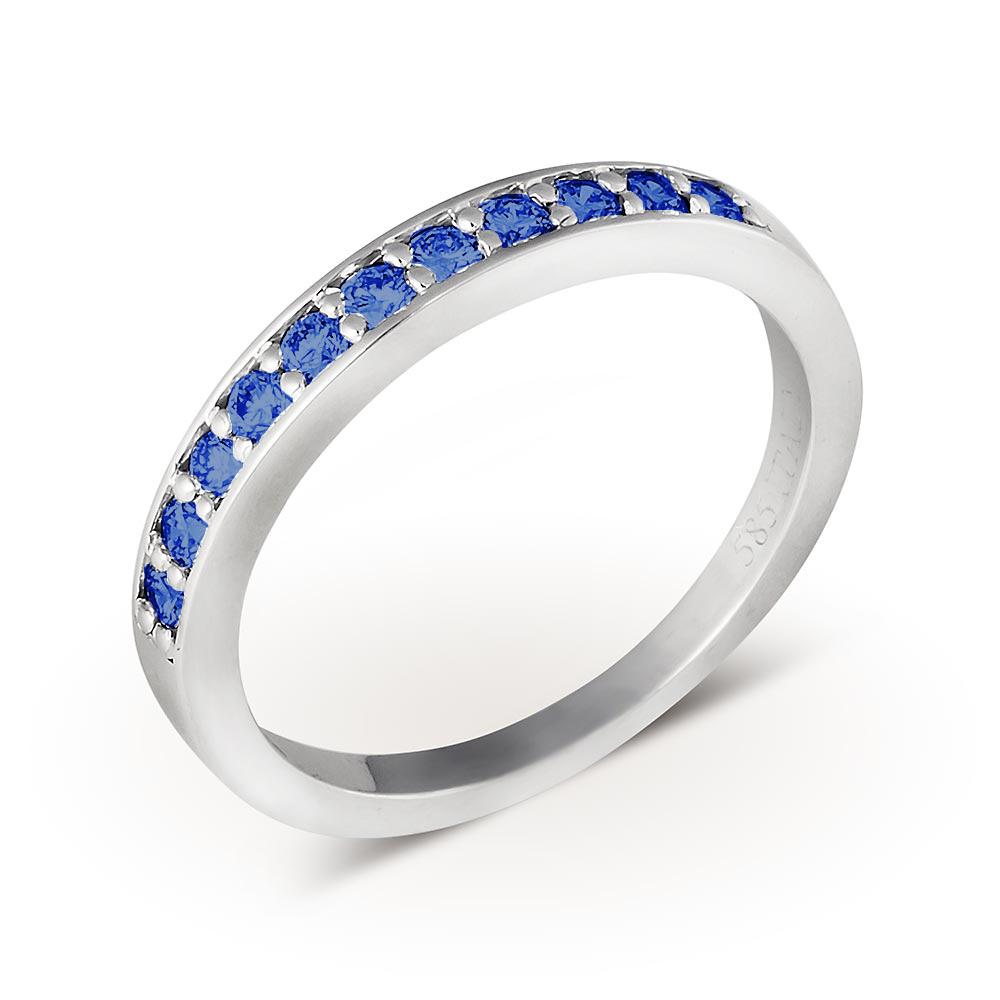 Обручальные кольца из белого золота артикул SW51 купить в Минске a349c32fcc9