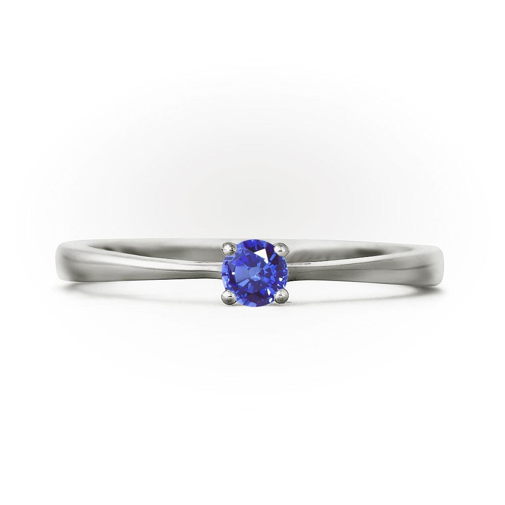 Кольцо Арт. SW43. Кольцо для помолвки из белого золота ... f5a4103a86b