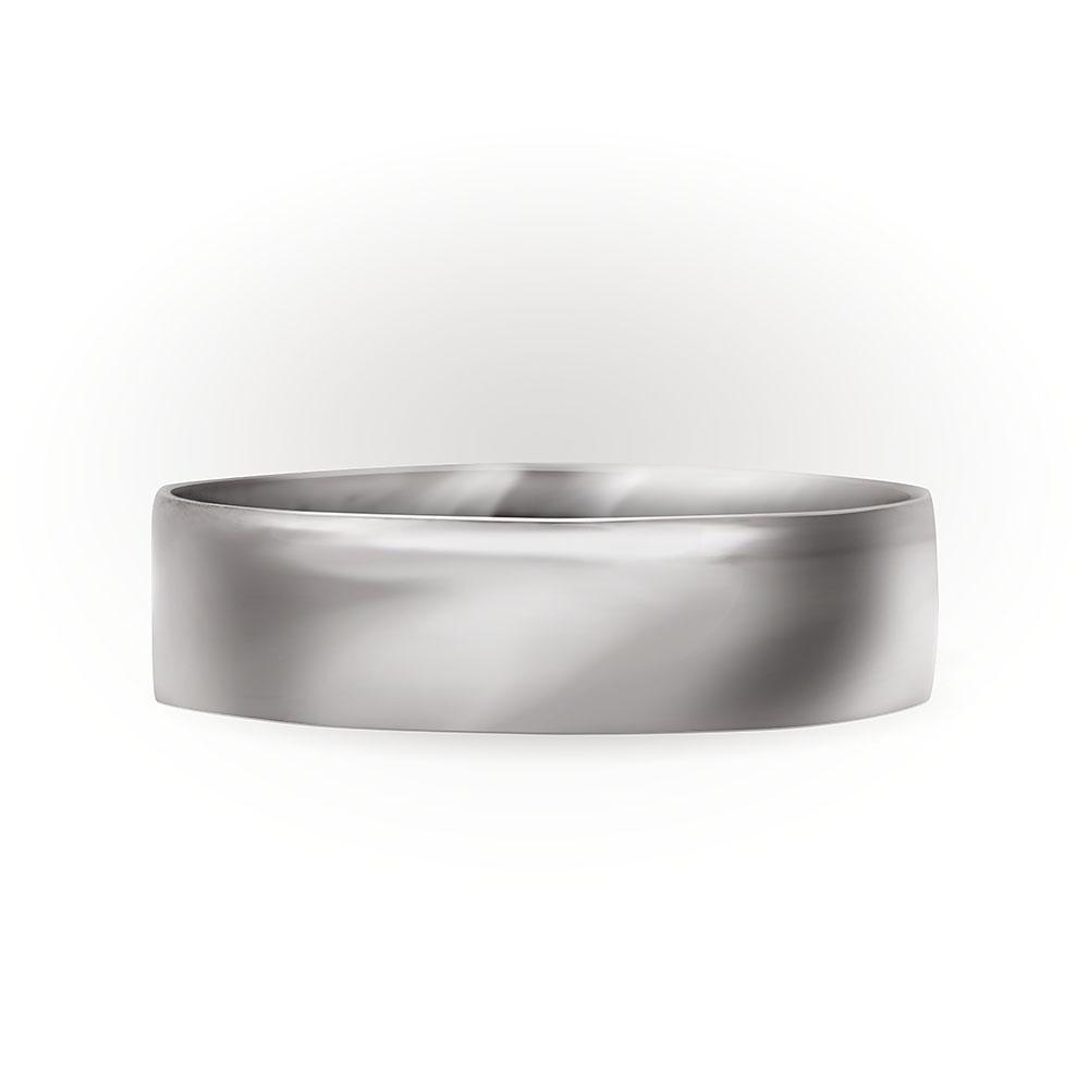 Обручальное кольцо из белого золота купить в Минске. Широкое кольцо ... e5c763d87f4