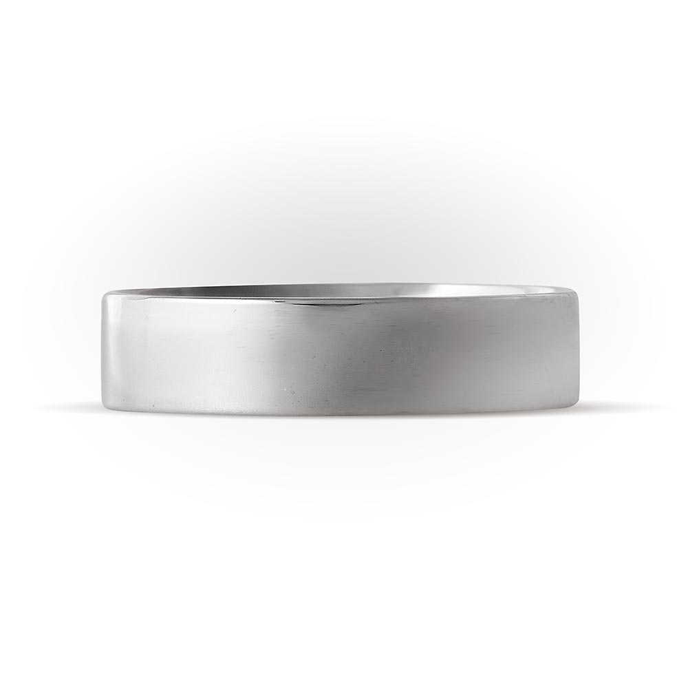 Кольца из белого золота обручальные без вставок купить в Минске ... d558c38602a
